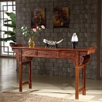 实木木供桌贡桌神台家用条案佛台供台新中式